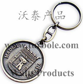 Coin Keychains, Coin Keyrings