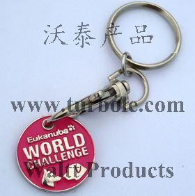Personalised Trolley Coins Keychains